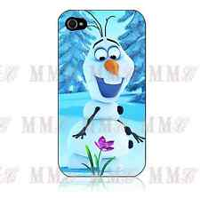 Disney FROZEN OLAF Snow Man Hard Case Cover for Iphone 4 4s 5 5s 5C 6 + iPod 5th
