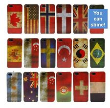 Vintage Retro National Flag Country Hard Back Case Cover Skin For iPhone 5 5G 5S