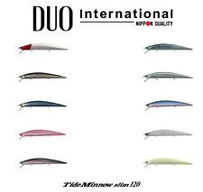 DUO Tide Minnow Slim 120 Saltwater Floating Lure - Select Color(s)