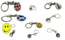 New Trolley Coin Keyring Token Gift Idea for Him, Her, Favours 24 Various Design