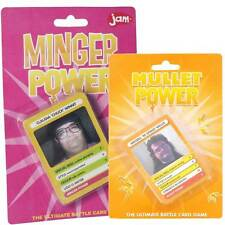 Ugly Minger Mullet Power Trump Fun Playing Cards Game Novelty Adults Card Joke