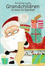 to / for the GRANDCHILDREN cute Christmas card - 4 x cards to choose from!