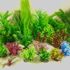 Artificial Aquarium Plastic Plants Fish Tank Decoration Tropical Coral Ornament