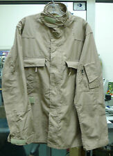 USGI AIRCREW COMBAT CLASS 2 TAN 380 ARAMID FLIGHT SUIT COAT SHIRT VAR SIZES USED