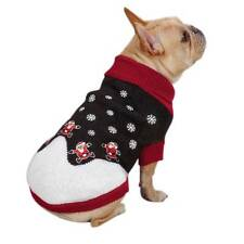 East Side Collection Santa Holiday Sweater Pet Dog Knit Warm Turtleneck
