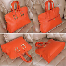 Ladies Celebrity Leather Style Tote Shopper Satchel Bag Women Shoulder Handbag