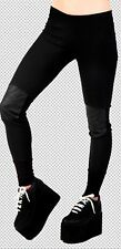 Lip Service OCCULT THERMAL Knit leggings Black NEW