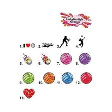 Waterslide Nail Decals Set of 20 - Volleyball - you choose