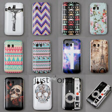 Rose Skeleton Wave Stripes Skin Case Cover Back Shell For Samsung Galaxy Y S5360