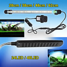 UK STOCK Aquarium Fish Tank 5050SMD LED Light Bar Flexible LED Clip Light Lamp