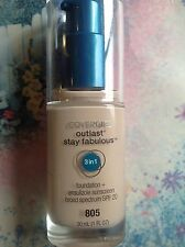 NEW! COVERGIRL Outlast Stay Fabulous 3-in-1 Foundation SPF 20 *YOU CHOOSE*