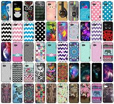 For LG Enact VS890 Snap On Design Protector Rubberized Hard Cover Phone Case