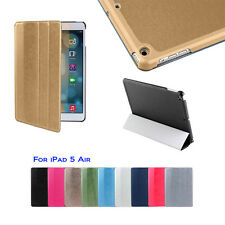 Premium Magnetic Smart Cover Case Folding Stand Fashion for Apple iPad Air+Gifts
