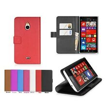 For Nokia Lumia 1320 (7 Colors) Leather Folio Wallet Flip Case Cove + LCD Film a