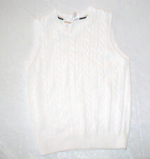 NWT GYMBOREE SPRING CELEBRATIONS WHITE SWEATER VEST EASTER