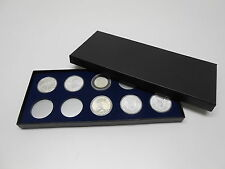 Display Box for Coins in Airtite Capsule Holders 10 H Silver Eagle Morgans