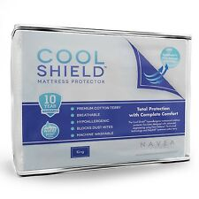 Mattress Protector  Waterproof, Breathable & Hypoallergenic Cover