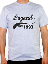 LEGEND SINCE 1993 - Birth Year /Birthday Gift / Novelty Themed Men's T-Shirt