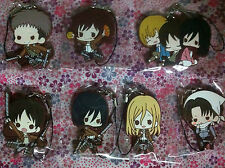 Attack On Titan Shingeki no Kyojin Rubber Strap 1 pcs Cute Style