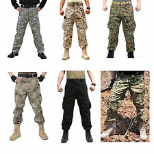 New Military Army Designer Sports Camo Camouflage Combat Cargo Trousers Pants