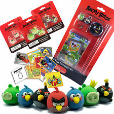 Angry Birds Stationary, Multi Listing Fun Rubbers / Stationary / Stickers