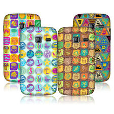HEAD CASE DOODLE PATCHES SNAP-ON BACK CASE COVER FOR SAMSUNG GALAXY Y DUOS S6102