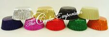 288  Beautiful High Quality Cupcake / Muffin Foil Bun Cases 1 Colour or Mixed