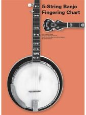 Chester 5-String Banjo Fingering Chart Play Chords Notation Guide TAB Music