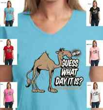 Funny Guess What Day it is Hump Day Camel TV Commercial Womens T-Shirt