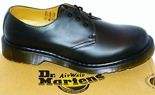 New Dr Martens docs PLAIN WELT MENS SIZES black leather 3eye shoes