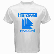 New DJ HARDWELL REVEALED TRANCE LOGO Men's White T-Shirt Size S to 3XL