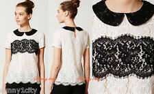 NEW Anthropologie Lace Latitude Blouse From Peter Som x $178 Various Sizes