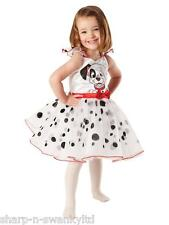 Girls Disney 101 Dalmatians Dalmations Book Day Week Fancy Dress Costume Outfit