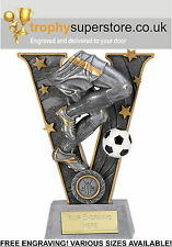 Silver Resin Victory Legs Footballer Trophy. FREE Engraving! Various sizes!