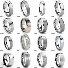 Tailor Made Tungsten Carbide Wedding Ring Various Styles Option Size 4-18