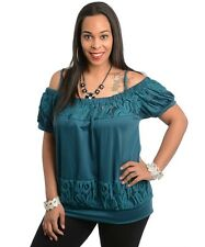 New - Stunning Ladies Off the Shoulder Top - Size 14,16 & 18