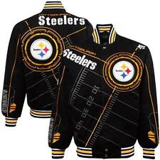 NFL Pittsburgh Steelers On Point On Fire Red Zone Jacket By NFL Team Apparel L