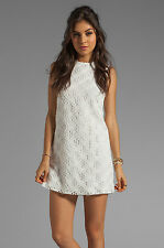 dolce vita– Misses' Size 8 - White Olie Crochet Lace Tank Dress Retail :138.00