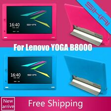 "NEW Silicone Rubber Gel Skin Case Cover For Lenovo YOGA B8000 10"" Tablet PC+Gift"