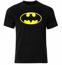 BATMAN Retro Classic Unisex Super Hero T Shirt New Sizes S/M/L/XL