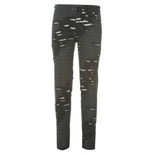 NEW Womens Ripped/Destroyed Leggings 10/12 STRETCH Petite Thriller/Dance Costume