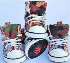New Cozy Pet Dog Boots Puppy Camouflage Sports Shoes For Small Dog SIZE #1-#5