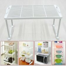New 1-Tier Unit Shelf Aluminium Shelving Cabinet Multifunction Storage Rack