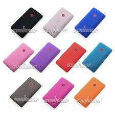 Matte Surface TPU Gel Case Skin Cover For Nokia Lumia 520T