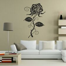 Rose thorn Wall Sticker Floral Cœur épines transferts Autocollants Decal Vinyle