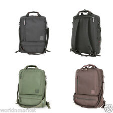 Three Way Backpack Bags School Book Laptop Protection Messenger Luggage 4 Colors