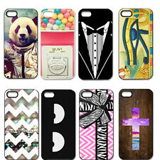 Funny Chevron Rainbow The Cross Hard Case Back Cover For iPhone 4 4S 5 5G 5S 5C