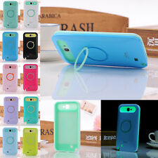 Hybrid Color Luminous Silicone Stand Case Cover For Samsung Galaxy Note 2 N7100