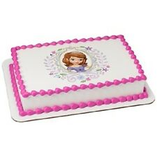 Sofia the First EDIBLE IMAGE for cakes,cupcakes,cookies various sizes!
