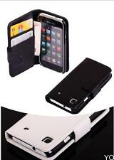 YOUS PU Magnetic Wallet Flip Leather Cover Case For Samsung Galaxy S i9000 i9001